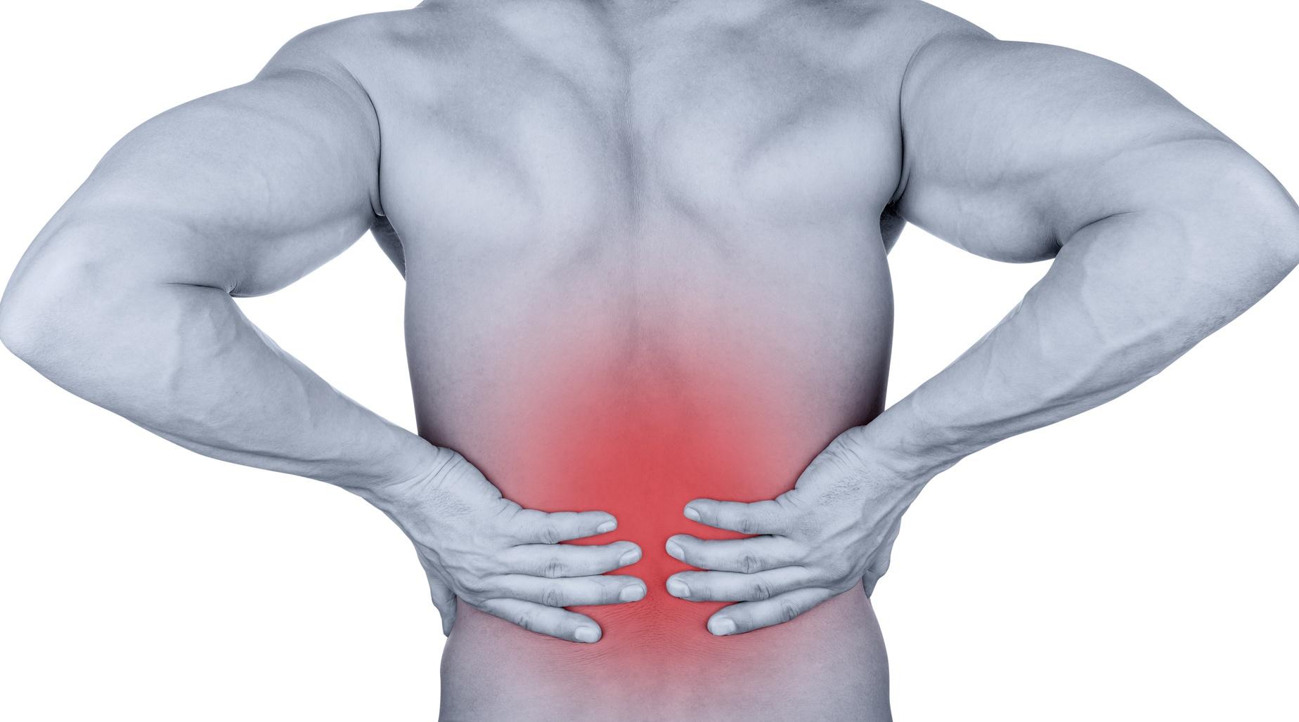 Eine Geisel der Menschheit Rückenschmerzen